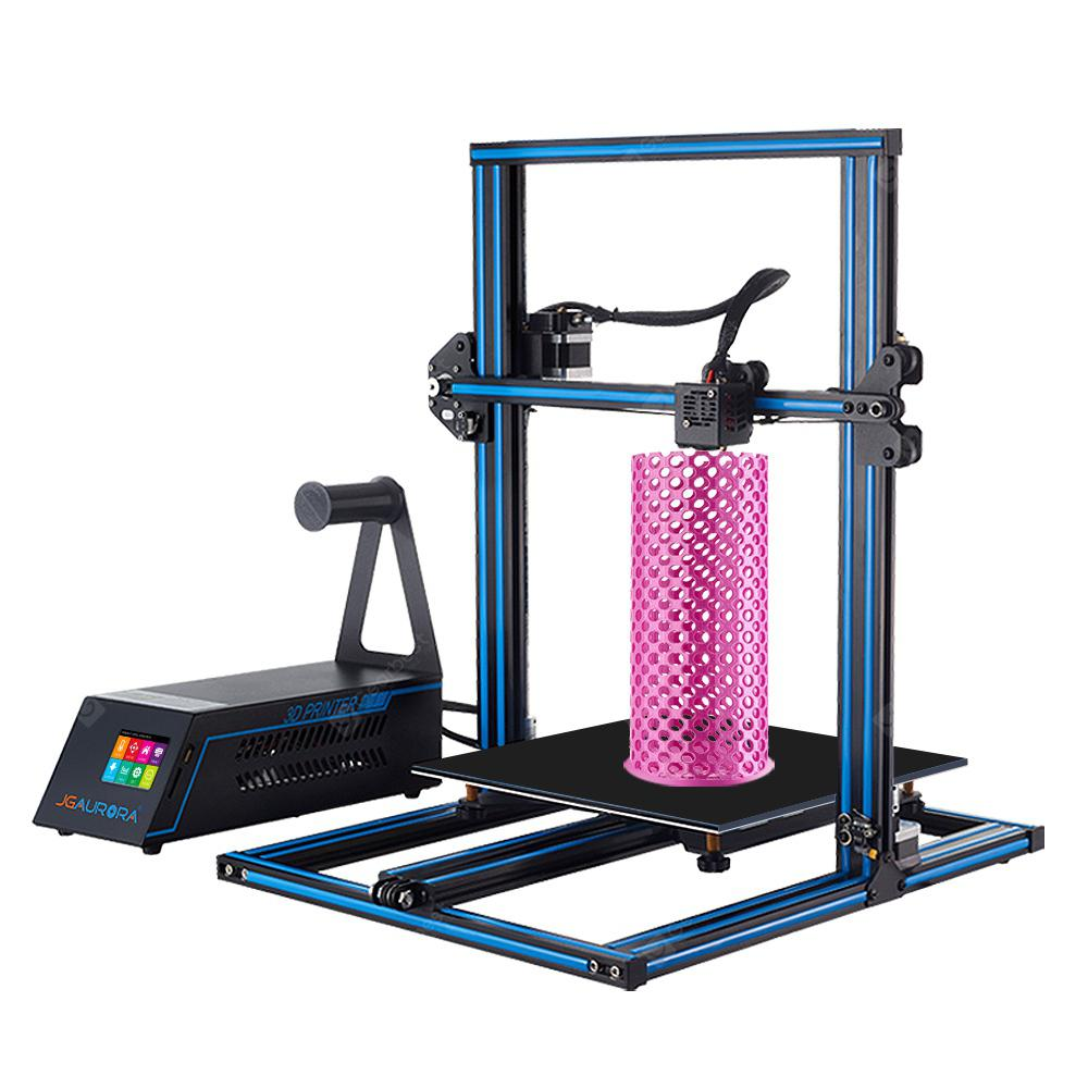 JGAURORA A5X 3D Printer Kit Printing - Sky Blue EU Plug