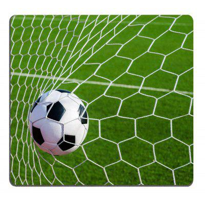 Soccer Football in Goal Net Personality Desings Gaming Mouse Pad