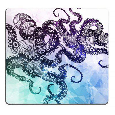 Hipster Octopus  Personalized Design Non-Slip Rubber Mousepad
