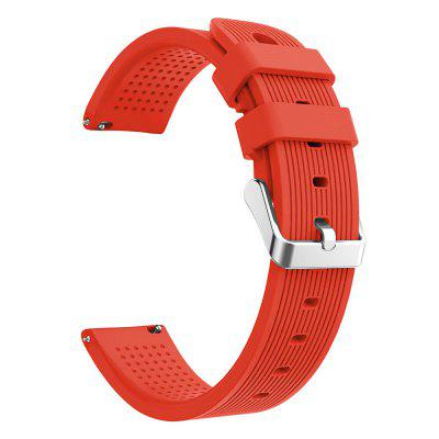 20mm Sport Silicone Wrist Strap for AMAZFIT Youth Bip