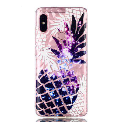 Diamond Grain Soft TPU Case per Xiaomi Redmi Note 5 Pro Pineapple Pattern