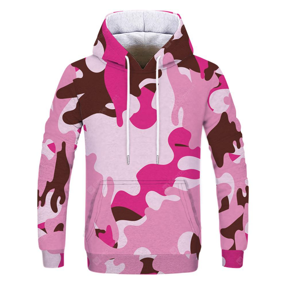 2fcbb47dbcde Men s Fashion New Camouflage Pattern 3D Printed Double Hoodie -  37.07 Free  Shipping
