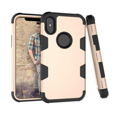Shockproof Full-body Protective Hard Phone Case for iPhone X