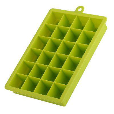 24 Cavity Mini Cocktail Whiskey Ice Cube Mold Storage Containers