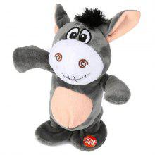 Cute Electric Voice Recording Donkey Can Speak and Talk Interactive Plush Toys