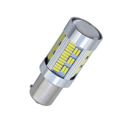 2Pcs No Hyper Flash 1156 BAU15S P21WY Canbus LED Auto Lamp 105SMD 4014 Chips 1x t15 w16w 921 canbus car led 4014 parking stop light projector len backup reverse light no error automotive lamp bulbs