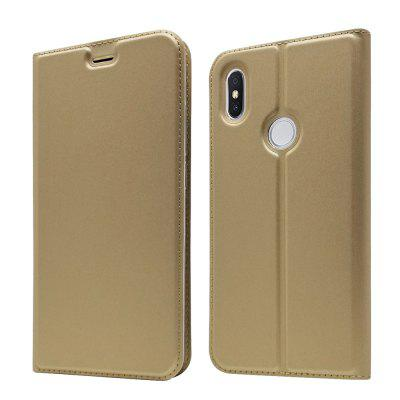 Case for Redmi S2 Card Holder Magnetic Full Body Solid Hard PU Leather