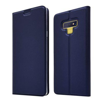 Case voor Samsung Note 9 kaarthouder Magnetic Full Body Solid Hard PU-leer