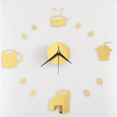 Wall Clock Creative DIY Cartoon Modern Numbers Home Decoration Living