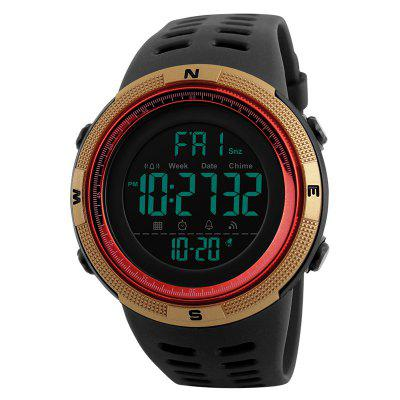 SKMEI Men's Digital Sports Watch Wasserdichte Militär Stoppuhr