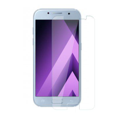 1pcs Tempered Glass Membrane Explosion Proof 2.5D Round Edge for Samsung A3 2017