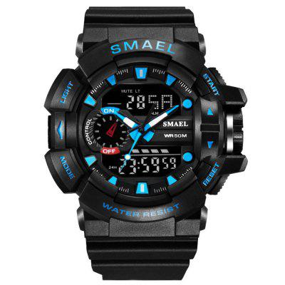 SMAEL Men New Fashion Digital Military Sports Cool Waterproof Watch