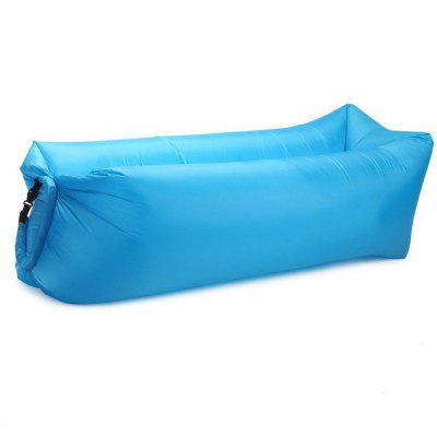 Inflatable Lounger Couch Camping Air Sofa Sleeping Bag Outdoor Bed