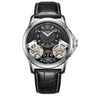 STARKING AM0218 Waterproof Hind-wind Steel Tourbillon Mechanical Men Watches