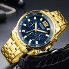 MEGIR 2068 Men Luminous Display Chronograph Business Quartz Wrist Watch - ZLATO