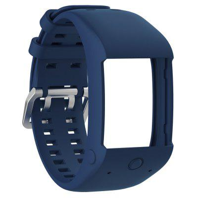 Soft Silicone Rubber Watch Band Wrist Strap for Polar M600 Fitness