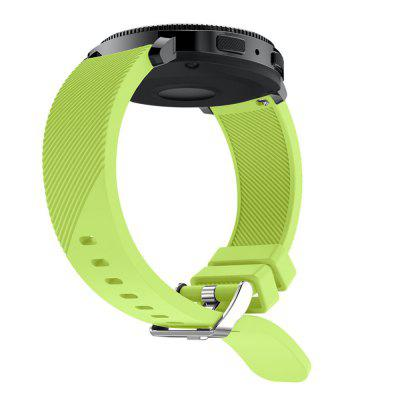 20 mm voor Samsung Gear Sport Silicone Rubber Wrist Band Strap