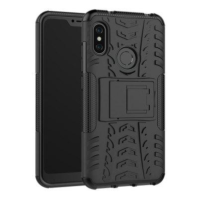 TPU + PC Dual Armor Cover with Stand for Xiaomi Mi A2 Lite