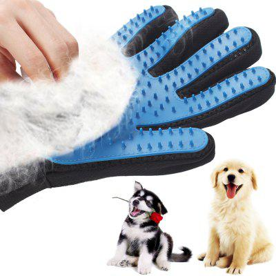 Gentle Efficient Grooming Bath Cleaning Dog Cat Pet Brush Glove