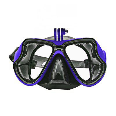 Tempered Glass Diving Snorkeling for Gopro Scuba Mask Adult Silicone Swimming