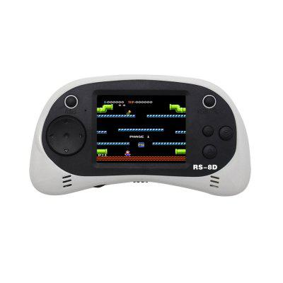 RS-8D 2.5 Inch TFT Display Handheld Video Game Console 8 Bit Game Player