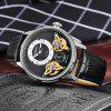 STARKING Brand Watches 50M Waterproof Business Wristwatch Tourbillion Watch - BLACK