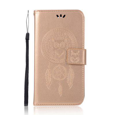 Owl Campanula Wallet Cover For Huawei P20 Lite Case PU Luxury Flip Leather Case