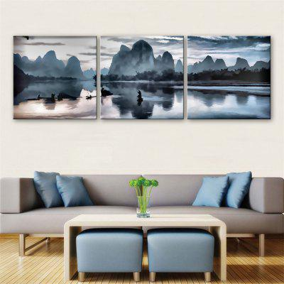 Special Design Frameless Paintings Guilin Landscape Print of 3PCS