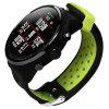 22mm Sport Soft Silicone Strap Wristband for Xiaomi Huami AMAZFIT 2/2S - TEA GREEN