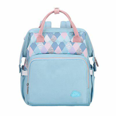 Oiwas Mommy Backpack 11.9L Large Capacity Waterproof Diaper Nappy Bag Handbag
