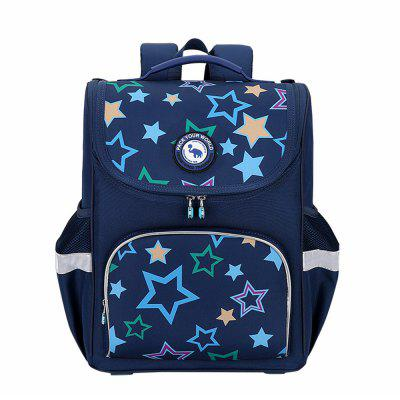 OIWAS Child Wheeled Backpacks Waterproof Rolling School Suitcase for Laptop