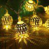 LED String LED Lights Christmas Tree Decoration Moroccan String - SILVER