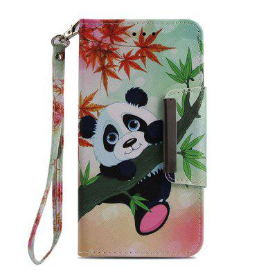 For iPhone 8 Plus 7 Plus Bamboo Panda Painting Phone Case