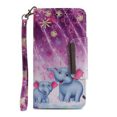 For iPhone 8 Plus 7 Plus Fireworks Elephant Painting Phone Case