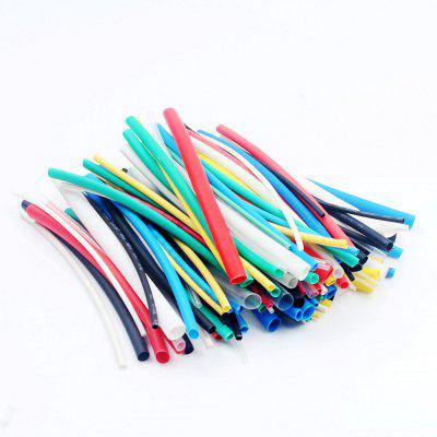 100pcs  Heat Shrink Tubing Colorful Wrap Wire Cable Sleeve DIY Kit