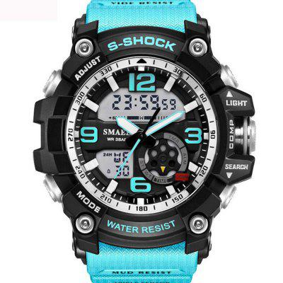 Fashion Mens New Design Dual Display Scuba Diver Sport Wrist Watch