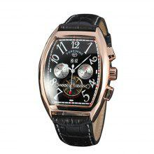 Forsining Men Square Dial Date Automatic Mechanical Watch