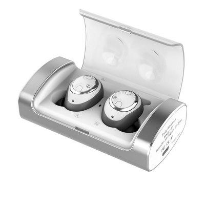 H1 Bluetooth Stereo Earphone with Battery Compartment Dual Ear Wireless Sport
