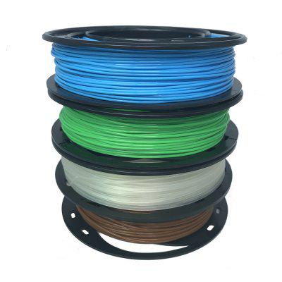 CCTREE 3D Printer PLA+ Filament Silk 1.75mm 200g Spool Dimensional Accuracy +/- 0.03mm for CR10 Ender 3 Fluorescent