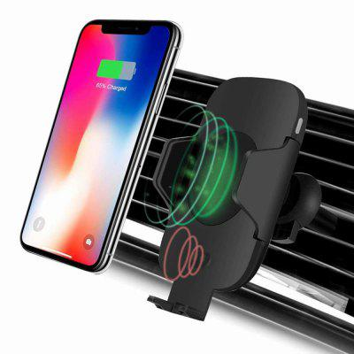 Wireless Car Charger Mount Qi Fast Charging Air Vent Phone Holder Cradle