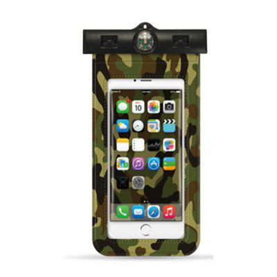 Waterproof Cell Phone Case (Deluxe) - Dry Bag Pouch f To 6 Inches - Adjustable Lan