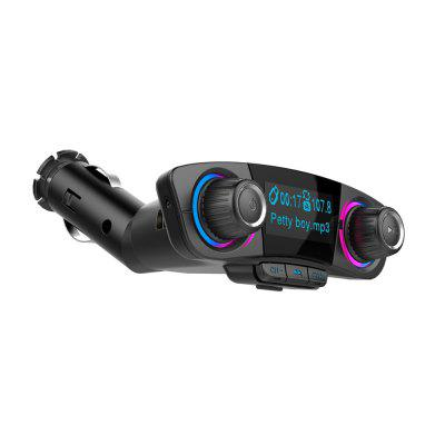 SpedCrd Bluetooth FM Transmitter Car MP3 Player USB Charger