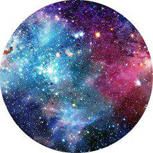 Round Anti Slip Gaming Outer Space Star Rubber Mouse Pad