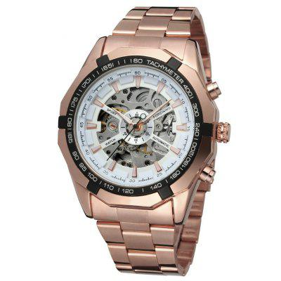 WINNER Men Luxury Fashion Classic Sport Automatic Mechanical Watch