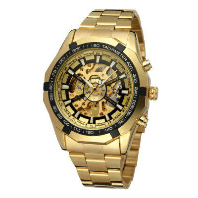 WINNER Men Luxury Fashion Classic Sport Montre mécanique automatique
