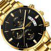 NIBOSI 2039 Scratch Design Luminous Waterproof Business Quartz Watch - MULTI-A