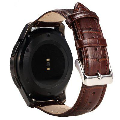 22MMN Genuine Leather Watch Strap for Samsung Gear S3 Classic/Frontier