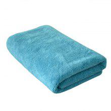 Household Comfortable Quick-Drying Bath Towel Blue