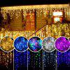 Led Light Strings Ice Strip Cortina 3.5M 96LED - MULTICOLOR-B