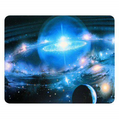 Non Slip Rubber Gaming Space Light Comfortable Mouse Pad